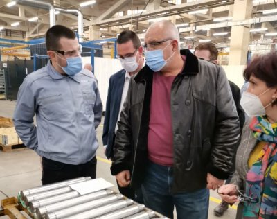 Борисов: С 5 млн. лв. подкрепихме завод за хидравлика в Кърджали