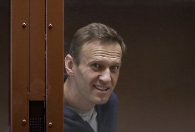Навални вече е в затвора