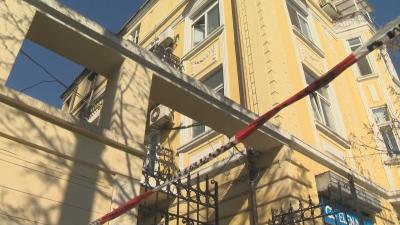 Жена загина при пожар в центъра на София