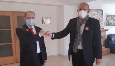 Посланикът ни в Скопие обсъди с Бучковски сътрудничеството между двете страни