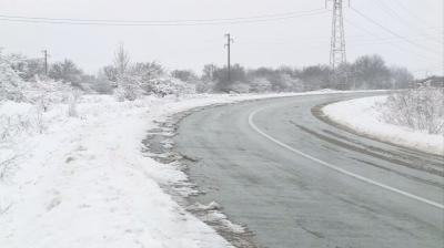 Търсят се пътни знаци от ремонтирания участък между Разград и село Дянково