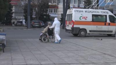 Над 90% са запълнени Ковид отделенията в Бургас