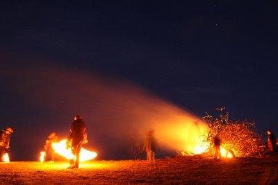 Глоба до 1000 лв. за палене на огън на Сирни Заговезни в Дупнишко