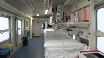 Италия пуска медицински влак, оборудван като интензивно отделение