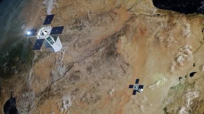 Французи направиха симулация на атака от сателитите в орбита