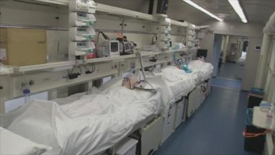 Оборудван като интензивно отделение влак може да се включи в борбата с коронавируса в Европа