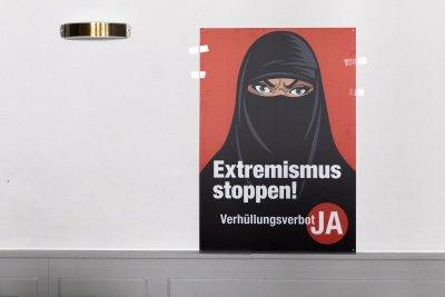 Щвейцарците решиха: Пълното скриване на лицето не е позволено