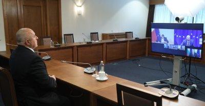 Борисов обсъди ваксинацията с Шарл Мишел