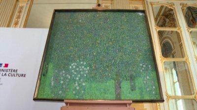 Франция връща картина на Густав Климт, присвоена от нацистите