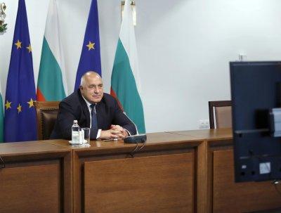 Борисов участва на онлайн заседание с евролидерите и Байдън