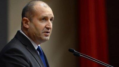 Радев: Р Северна Македония да зачита правата на хората с българско самосъзнание