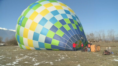 Полет с балон над най-красивите места в Рила и Пирин