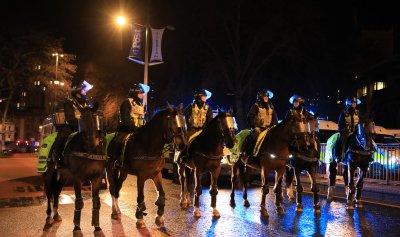 Арести при пореден протест в Бристол (СНИМКИ)