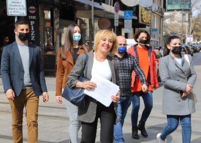 """Манолова: Ще потърсим """"Демократична България"""" и партията на Слави за съвместни действия по съдебната реформа"""