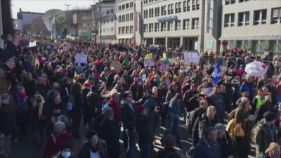 Протести в Европа срещу ограниченията заради пандемията