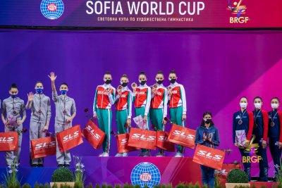 6 златни, 1 сребърен и 2 бронзови медала за България на Световната купа в София