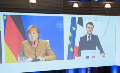 """Путин, Меркел и Макрон обсъдиха възможността за регистрация на """"Спутник V"""" в ЕС"""