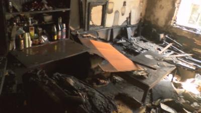 От първо лице: Ужасът на живеещите до изгорялото заведение в Стара Загора