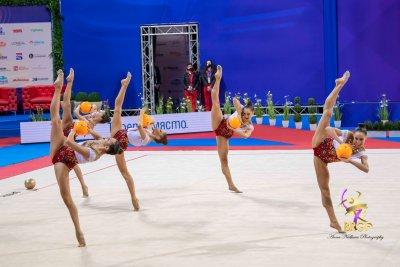 Злато за Ансамбъла ни по художествена гимнастика на 5 топки