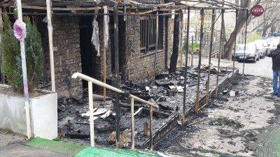 Изгоря едно от най-популярните заведения в Стара Загора