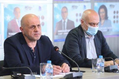 Томислав Дончев: Ще предложим правителство въпреки малките шансове да бъде подкрепено