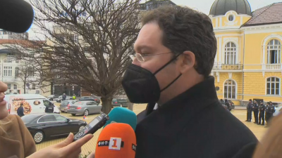 Номинираният за премиер от ГЕРБ Даниел Митов: Един политик не може да бяга от отговорност