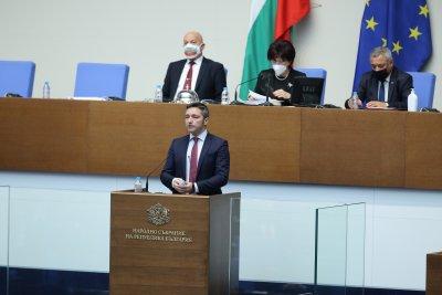 БСП предлага Кристиан Вигенин за зам.-председател на 45-тото Народно събрание