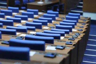 Политическите лидери на неформална среща преди откриването на новия парламент