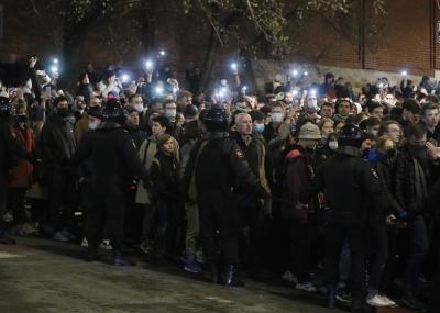 Хиляди демонстрираха в защита на Навални