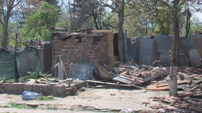 Пожар остави без дом шестчленно семейство от Пазарджик