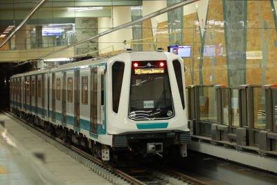 """Третият лъч на метрото: Мотрисите вече се движат до кв. """"Горна Баня"""""""