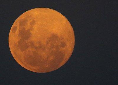 Настъпи първата за годината Супер Луна (Снимки)