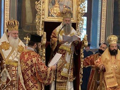 Пловдивският митрополит Николай оглави службата за Второ Възкресение
