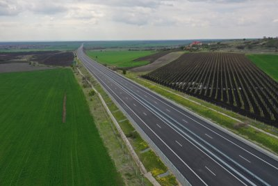 "Пускат движението по ремонтирания 10 км участък от АМ ""Тракия"""