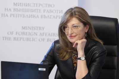 Екатерина Захариева: Огромна армия от жени-герои ни помага да се справим с пандемията