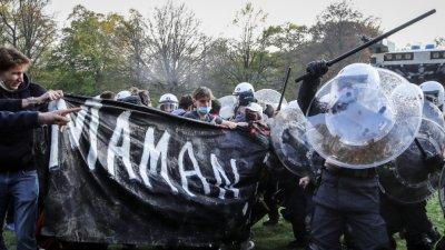 Над 130 арестувани в Белгия заради участие в непозволено парти