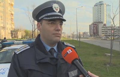 """Акция на """"Пътна полиция"""" следи за превишена скорост"""