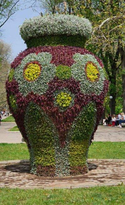 """Над 30 000 цветя """"облякоха"""" една от емблемите на Русе"""