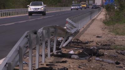 Три жертви след тежка катастрофа на Околовръстното в Пловдив (ОБЗОР)