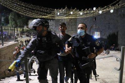 Сблъсъци между палестинци и израелци в Източен Йерусалим