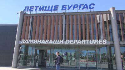 163 души отлетяха за Русия със специален самолет от Бургас заради спрените полети