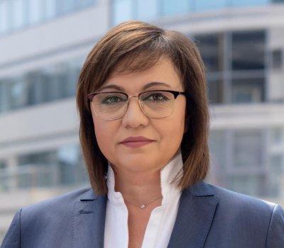 Корнелия Нинова призова прокуратурата да се самосезира за сигналите на Илчовски за Борисов