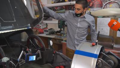 Ученици от Чепеларе направиха най-икономичния електромобил