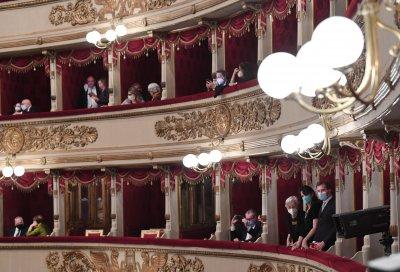 След 199 дни тишина: Първи концерт с публика в Ла Скала
