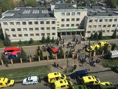 Стрелба в училище в Казан, има жертви и ранени