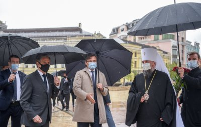 Антъни Блинкен в Украйна: Вашингтон потвърди подкрепата си за Киев