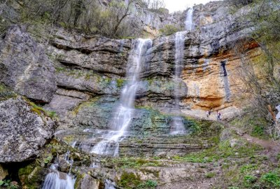 Водопадът Бовска Скакля - перлата на Искърското дефиле (Снимки)