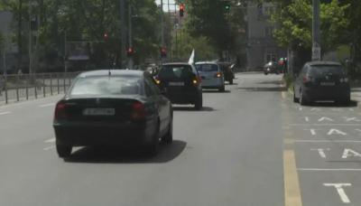 """Протестно автошествие срещу парада """"Бургас прайд"""""""