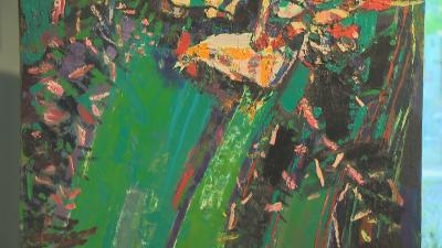 Показват открадната и намерена картина в памет на художника ДиКиро