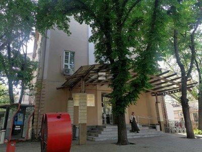 Пожар горя в Пловдивския университет